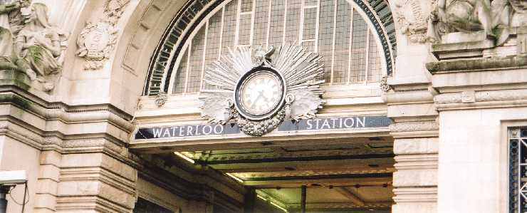 Waterloo Station, London