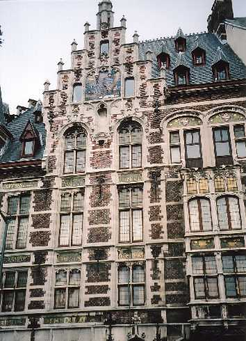 The beautiful architecture of Brussels