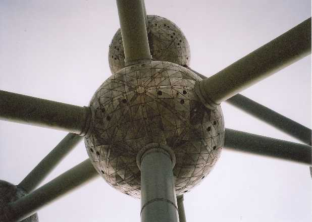The Atomium - close up